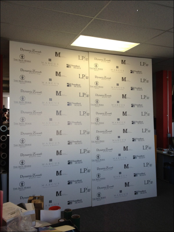 Large Format Digital Print Photo Backdrop Milwaukee