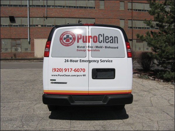 Custom Vehicle Graphics With Perforated Window Vinyl For A