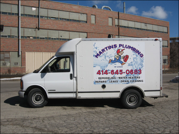 Digitally Printed Vinyl Vehicle Graphic For A Box Truck