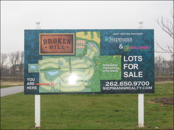 Broken Hill 4 X 8 Development Sign Sign A Rama