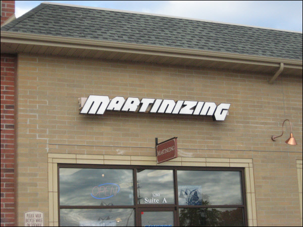 Martinizing Milwaukee Dry Cleaners Channel Letters Store