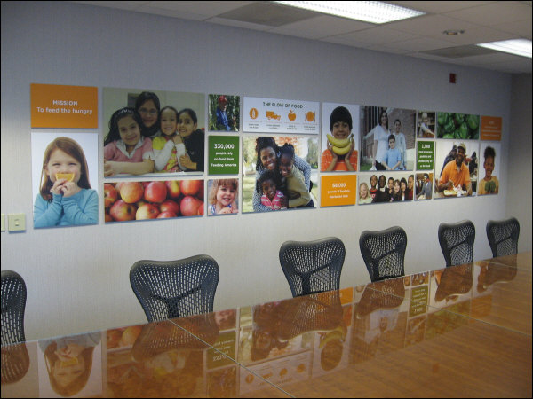 corporate boardroom artwork wall mural milwaukee wisconsin On corporate mural